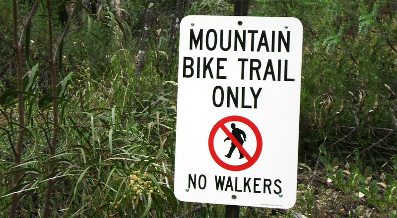 New Mt Canobolas Mountain Bike Trail excludes bush walkers