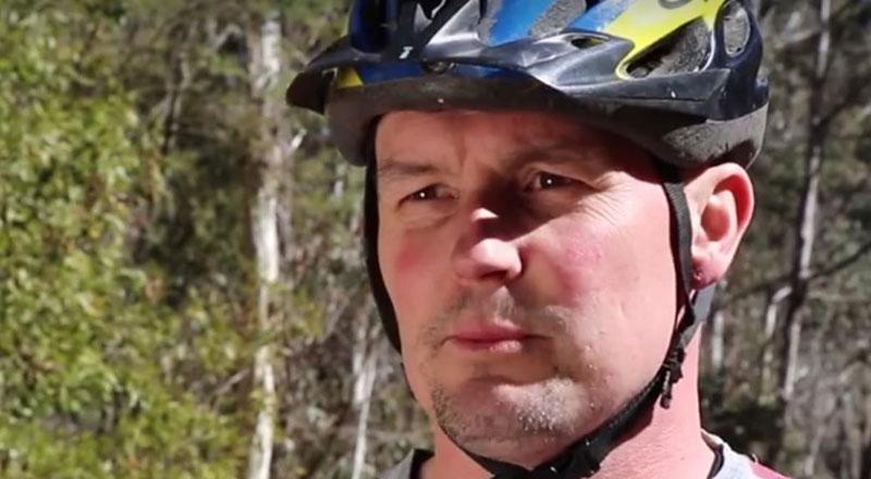 Concerned Mountain Biker