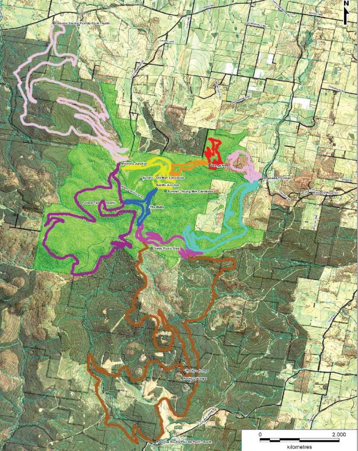 New proposed Mountain Bike Trails at Mt Canobolas